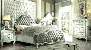 Bedroom Sets ~ Hollywood Swank Bedroom Set Romantic With King Size W ...