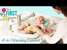 4 in 1 warming comfort tub from the first years