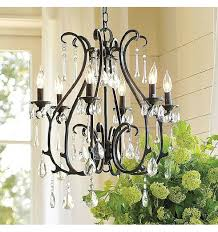 pottery barn crystal chandelier replacement crystal drops for chandeliers