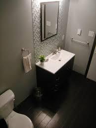 bathroom remodel tile shower. Bathroom Remodel On A Budget Ideas Rectangular White Wooden Vanity Cabinets Marble Tile Shower Backsplash Black B