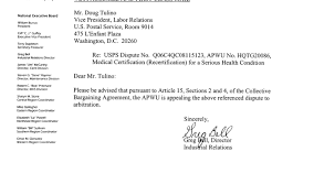 Fmla Letter To Employee The Letter Sample Usps Cover Letter