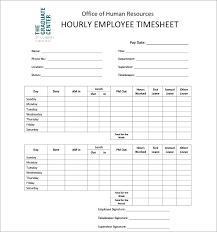 printable employee time sheets free printable timesheets for employees blank domestic