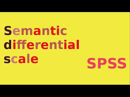 Semantic Differential Chart Excel Spss For Newbies Semantic Differential Scale Data Entry