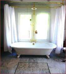 clawfoot shower kits claw bathtub shower kits tub feet types pertaining to bear decor clawfoot tub