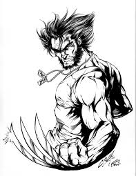 Our coloring pages are free and classified by theme, simply choose and print your drawing to color for hours! Free Printable Wolverine Coloring Pages For Kids