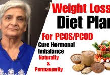 Pcod Pcos Diet Plan For Weight Loss Healthy Diet Meal