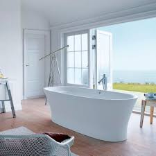 free standing bathtub oval by philippe starck