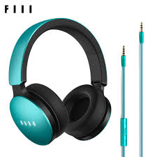 FIIL Music Wired Headphones Elegant Good Look Active Noise Canceling with  Microphone Foldable Design Headphones Professional