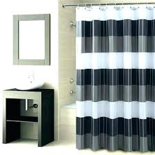 black and white striped shower curtain black white and grey shower curtain gray and white striped