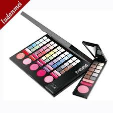 78 colors makeup kits for 6 days small pocket case