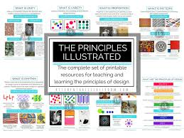 Elements And Principles Of Design Crossword The Principles Illustrated Principles Of Design Posters And