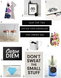 best office kris kringle gifts for under 35