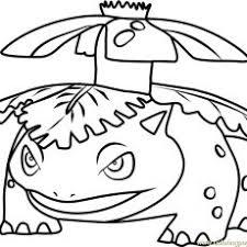 Extraordinary Inspiration Mega Venusaur Coloring Pages Pokemon Page