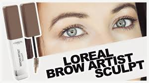 <b>Loreal Brow Artist</b> Sculpt - Review & Demo - YouTube
