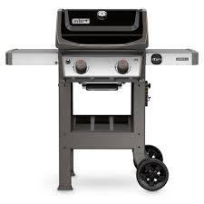 spirit ii e 210 2 burner propane gas grill in black