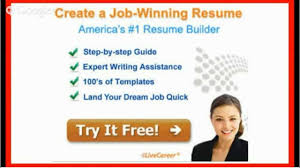 Livecareer Com Resume Builder Review Youtube