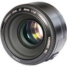 Купить <b>Объектив Yongnuo</b> 50mm F/1.8 <b>Canon</b> EF черный в ...