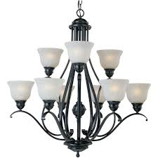 maxim lighting linda 9 light black chandelier