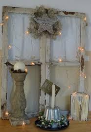 Shabby Fenster Weihnachtlich Weihnachtsdeko Hauseingang