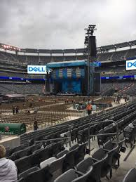 Ed Sheeran Metlife Stadium Seating Chart Metlife Stadium Section 118 Row 8 Seat 8 Ed Sheeran