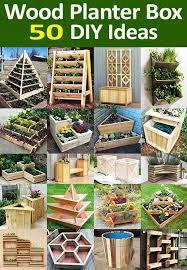 planter boxes diy wooden planters