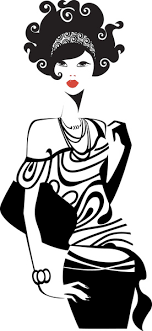 Set Of Fashion Girl Vector Graphic Free Vector In Encapsulated