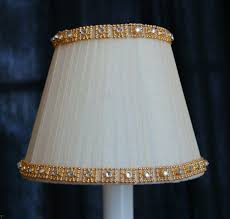 most recently released chandelier lamp shades clip on pertaining to cream fancy gold crystal trim chandelier