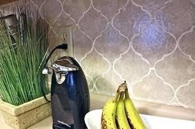 contact paper tile wallpaper look removable kitchen backsplash raised