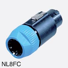 neutrik speakon nl8fc cable connector