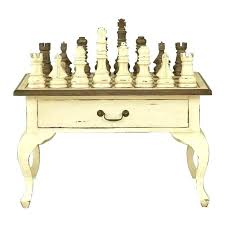 chess table for coffee board tables set previous antique south africa