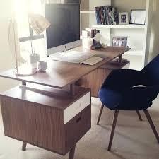scandinavian office desk style natural white isabella