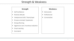Examples Of Strength And Weakness Strengths In A Resume Christiantoday Info