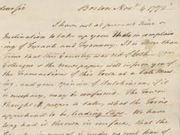 Committees Of Correspondence American Revolution 1773