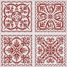 Free Biscornu Charts Free Patterns Square Round Etc Great For Biscornu