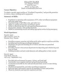 Resume Security Clearance Example Best Of Security Clearance Resume Example Cvfreepro