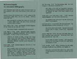 Vertical Files Barthe Richmond Annotated Bibliography Page 2