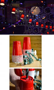 diy party lighting. Diy Red Cup Party Lights Lighting N
