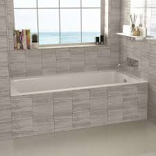 garden tub shower combo awesome drop in 54 x 30 soaking bathtub