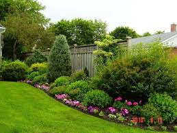 Small Picture The 25 best Landscaping along fence ideas on Pinterest Privacy