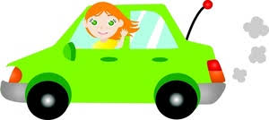car driving clipart.  Car Woman Driving Car Clipart 1 For O