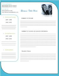 Free Cv Template Word Free Resume Templates Microsoft Word Free