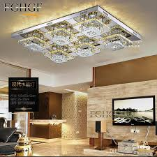 new modern led diamond crystal chandelier ceiling light fitting res crystal lights lamp for hallway corridor living room kitchen fast crystal chandelier