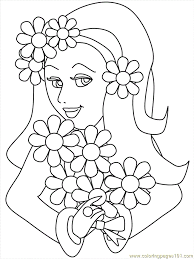 Girly Pictures To Colour In Skull Pattern For Children Download ...