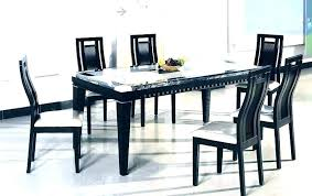 full size of black and white dining table 6 chairs round with oslo high gloss stowaway