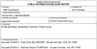 York Pa Incident Report Yupar Magdalene Project Org