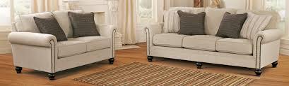 Living Room Sets At Ashley Furniture Buy Ashley Furniture 1300038 1300035 Set Milari Linen Living Room