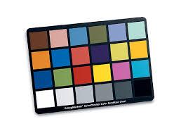 Photoshop Color Chart Color Calibrating Your Camera Photoshop Lightroom