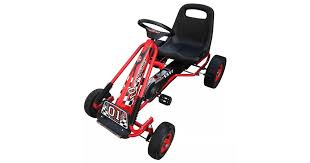 Red Pedal Go Kart with Adjustable Seat | Scooters - Dick Smith