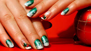 Christmas Nail Designs Red And Green: Robin moses nail art black ...