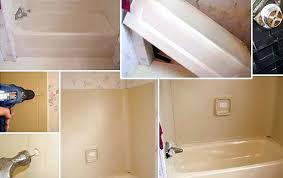 bathtub wall replacement replace mobile home bath tub tub shower surround replacement bathtub wall surround install